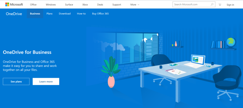 OneDrive-for-business-homepage-2019