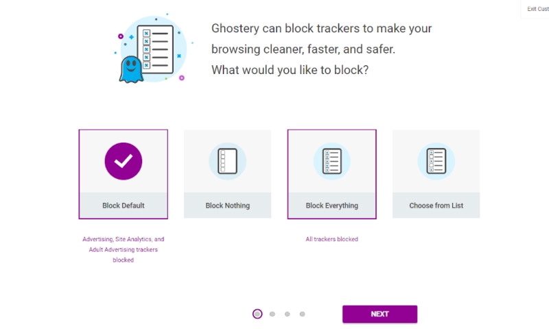 Ghostery-Block-Options