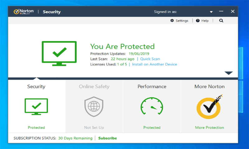 Norton-Client Security-