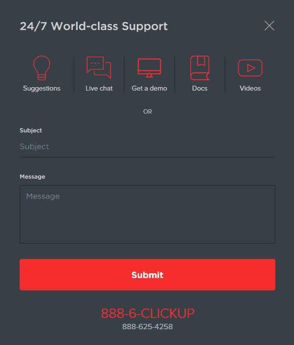 clickup-support