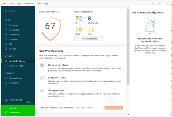 dashlane-review-identity-dashboard