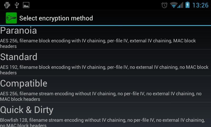 Truecrypt Android