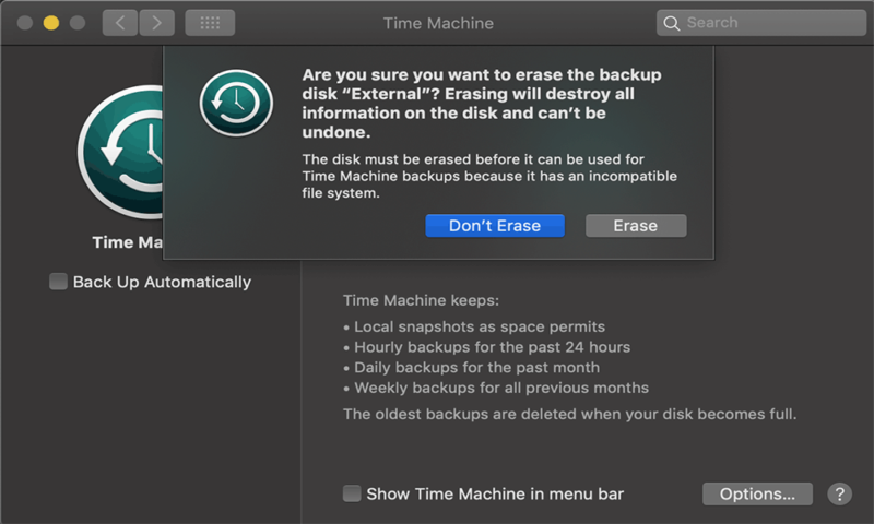 MacOS-Time-Machine-Erase-Drive