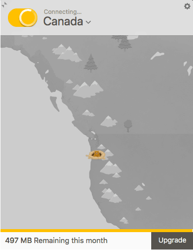 TunnelBear-Connect-to-Kanada